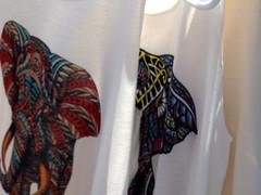 Market (over.leaf) Tags: hotwife sexy tanktop denim shorts bra