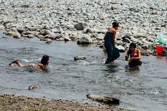 Women Bathing in River, Myanmar (AdamCohn) Tags: adam cohn burma chauk myanmar bath bathe bathing laundry river streetphotographer streetphotography washing wwwadamcohncom adamcohn