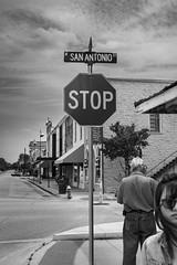 San Antonio Street - Lockhart, TX (acstnl) Tags: sony a7iii pentax asahi takumar 14 50mm texas bw antonio san lockhart