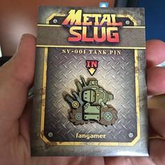 Metal Slug pin (RobotSkirts) Tags: metalslug pin fangamer tank