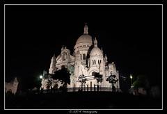 2019.09.14 Sacré Coeur by night 9 (garyroustan) Tags: paris montmartre church cathedral sacre coeur