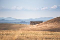 The Wall (Massimiliano Teodori) Tags: valdorcia tuscany landscape italy accona haybales wall conceptual minimal