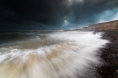 Birling Gap - Sussex (E_W_Photo) Tags: birlinggap sevensisters wave cliff sussex southdowns england uk canon 80d sigma 1020mm leefilters