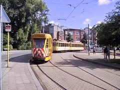 Meir, Brussel / Bruxelles (Anderlecht) (ernstkers) Tags: belgië bonde brussel bruxelles city lightrail mivb stib streetcar tram tramvia tranvia trolley vehicle eléctrico strasenbahn spårvagn