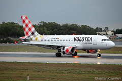 Volotea Airlines Airbus A319-112 'EC-NBD' LMML - 10.09.2019 (Chris_Camille) Tags: volotea voe a319 airbus v7 airbus320family spottinglog registration planespotting spotting maltairport airplane aircraft plane sky fly takeoff airport lmml mla aviationgeek avgeek aviation canon5d 5dmk4 70200mm28 canonef canon livery myphoto myphotography