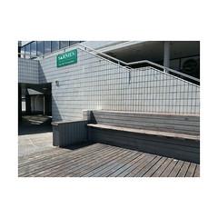 untitled (chrisinplymouth) Tags: bench diagx plymouth devon england uk cw69x xg city diagonal corner urbio cameo