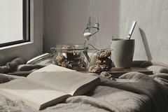 Mirli´s Bakery - gesunde Bananen-Hafer-Kekse (mirlime) Tags: rezept keckse cookies stillleben backen küche cooking interieor books lifestyle baking home