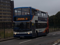 Stagecoach TransBus Trident (TransBus ALX400) 18127 KN04 XJB (Alex S. Transport Photography) Tags: bus outdoor road vehicle stagecoach stagecoachmidlandred stagecoachmidlands alx400 alexanderalx400 dennistrident trident transbustrident transbusalx400 route16 18127 kn04xjb