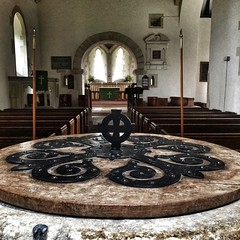 Southrop Church, Cotswolds, England (The Two Doctors) Tags: font iphone cotswolds southrop saxon norman medieval churches church heritage