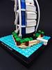 Burj al-Arab_6 (Jean Paul Bricks) Tags: lego legoarchitecture architecture legomoc moc microscale dubai burjalarab burj landmark