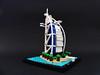 Burj al-Arab_1 (Jean Paul Bricks) Tags: lego legoarchitecture architecture legomoc moc microscale dubai burjalarab burj landmark