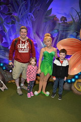 Florida Day 17 - 012h Magic Kingdom Town Square Theater Meeting Tinker Bell (TravelShorts) Tags: wdw walt disney world florida orlando magic kingdom disneys hollywood studios meet characters character greet meeting tinkerbelle tinker belle mickey mouse theatre town square funnel cake food dining caseys corner hot dog sofia first vampirina doc mcstuffins star wars bb8 galaxy far away one mans dream toy story land slinky dash andys lunchbox cinderellas royal table snow white ariel jasmine aurora happily ever after fireworks travel travelshorts day 17