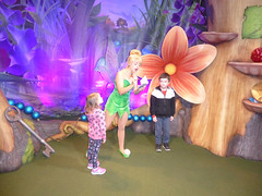 Florida Day 17 - 009 Magic Kingdom Town Square Theater Meeting Tinker Bell (TravelShorts) Tags: wdw walt disney world florida orlando magic kingdom disneys hollywood studios meet characters character greet meeting tinkerbelle tinker belle mickey mouse theatre town square funnel cake food dining caseys corner hot dog sofia first vampirina doc mcstuffins star wars bb8 galaxy far away one mans dream toy story land slinky dash andys lunchbox cinderellas royal table snow white ariel jasmine aurora happily ever after fireworks travel travelshorts day 17