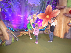 Florida Day 17 - 004 Magic Kingdom Town Square Theater Meeting Tinker Bell (TravelShorts) Tags: wdw walt disney world florida orlando magic kingdom disneys hollywood studios meet characters character greet meeting tinkerbelle tinker belle mickey mouse theatre town square funnel cake food dining caseys corner hot dog sofia first vampirina doc mcstuffins star wars bb8 galaxy far away one mans dream toy story land slinky dash andys lunchbox cinderellas royal table snow white ariel jasmine aurora happily ever after fireworks travel travelshorts day 17