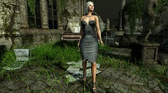 The Grey Lady (Arya Braveheart - Blogger) Tags: 7deadlyskins curves asia spotlight opale saturdaysale moondanceboutique on9 helamiyo