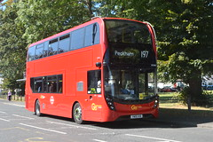 YW19 VVN (EH340) Go-Ahead London Metrobus (hotspur_star) Tags: londontransport londonbuses londonbus londonbuses2019 alexanderdennisltd enviro400hmmc tfl transportforlondon hybridbus hybridtechnology busscene2019 doubledeck goaheadlondonmetrobus yw19vvn eh340 197
