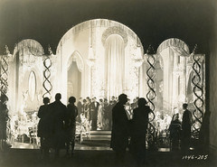 Hollywood Production Still (jericl cat) Tags: hollywood production still movie film filming scene formal attire evening gown tuxedo blacktie artdeco set cabaret nightclub arch silhouette arches 1930s