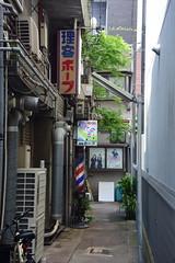 osaka1756 (tanayan) Tags: urban town cityscape osaka japan nikon v3 road street alley 大阪 日本