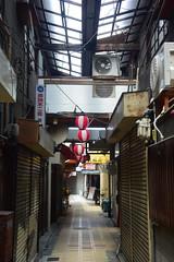 osaka1769 (tanayan) Tags: urban town cityscape osaka japan nikon v3 road street alley 大阪 日本 nipponbashi 日本橋 shopping