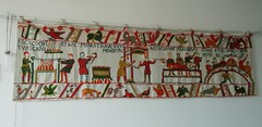 Bayeux tapestry (Marlis1) Tags: bayeux tapestry bayeuxtapestry embroidery marlis1 tortosa spain handicraft medieval huawei