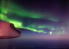 The beginning of the aurora tour (josefrancisco.salgado) Tags: d5 nikon northernlights sigma sigma20mmf14dghsmart airborne airplane aurora auroraborealis aurorae auroras avión night
