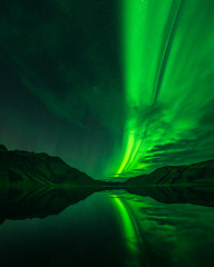 Aurora in Highlands (Eaglewood Photography) Tags: iceland highlands auroraborealis northernlights
