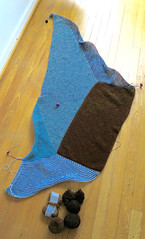 Vercites Unite (osloann) Tags: vercitesunite stephenwest sjal shawl knitting strikking ull wool woollove sueprsoft