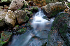 Flow (Krystian38) Tags: rocks river flow long exposure mountains nature sudety water green outside outdoor pentax k50 sigma 1770