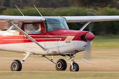 G-BNYL Cessna 152 (amisbk196) Tags: aerodrome airfield aircraft aviation amis flickr unitedkingdom kent 2019 uk headcorn gbnyl cessna 152