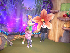 Florida Day 17 - 006 Magic Kingdom Town Square Theater Meeting Tinker Bell (TravelShorts) Tags: wdw walt disney world florida orlando magic kingdom disneys hollywood studios meet characters character greet meeting tinkerbelle tinker belle mickey mouse theatre town square funnel cake food dining caseys corner hot dog sofia first vampirina doc mcstuffins star wars bb8 galaxy far away one mans dream toy story land slinky dash andys lunchbox cinderellas royal table snow white ariel jasmine aurora happily ever after fireworks travel travelshorts day 17