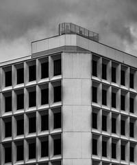 A world of windows (jefvandenhoute) Tags: belgium belgië brussel brussels wall windows