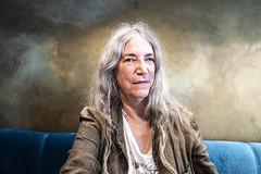 Patti Smith, Paris (Bryan Appleyard) Tags: pattismith rockstar horses paris hair cafe