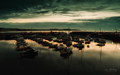 Dawn Harbour (Explore 18/09/2019) (RTA Photography) Tags: dawn paignton rtaphotography water sky light outdoorsphotography nature nikon d750 nikkor 1835 boats reflections wide torbay devon colours clouds twilight