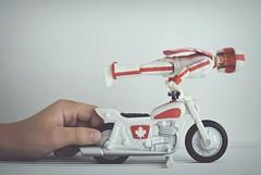 Duke Caboom!! (esterc1) Tags: juguete mano jugar childhood toystory4 dukecaboom moto figurine crazytuesday toys