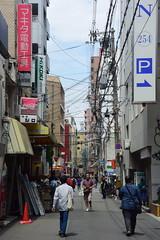 osaka1765 (tanayan) Tags: urban town cityscape osaka japan nikon v3 road street alley 大阪 日本 nipponbashi 日本橋 shopping
