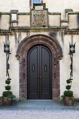 Door (syf22) Tags: castle fyviecastle scotland nescotland door fortress fortified entrance doorway closed wooden