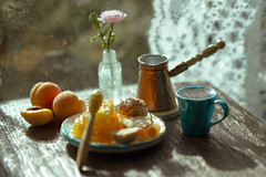 For sale miniature 1/6 scale coffe set for dollhouse (kinmegami) Tags: miniature miniatureflowers handmade polymerclay paper