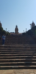 Up the Stairs - Union Buildings (Rckr88) Tags: up stairs upthestairs union buildings unionbuildings building unionbuilding stair stairway staircase architecture pretoria southafrica south africa