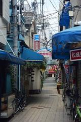 osaka1772 (tanayan) Tags: urban town cityscape osaka japan nikon v3 road street alley 大阪 日本 nipponbashi 日本橋 shopping