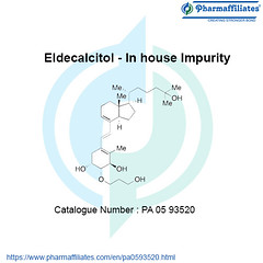 Eldecalcitol - In House Impurity (john 138) Tags: eldecalcitol in house impurity