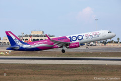 Wizz Air Airbus A321-231(WL) 'HA-LTD' LMML - 06.09.2019 (Chris_Camille) Tags: spottinglog registration planespotting spotting maltairport airplane aircraft plane sky fly takeoff airport lmml mla aviationgeek avgeek aviation canon5d 5dmk4 70200mm28 canonef canon livery myphoto myphotography w6wzz w6 wzz wo wizz wizzair airbus a321