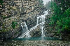 Cameron Falls – Waterton, Alberta Canada (Lee Edwin Coursey) Tags: summer landscape waterfall travel nationalpark trip canada rural 2019 waterton glaciernationalpark