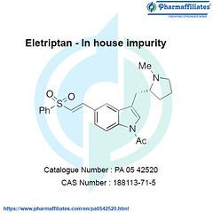 Eletriptan - In House Impurity (john 138) Tags: eletriptan in house impurity