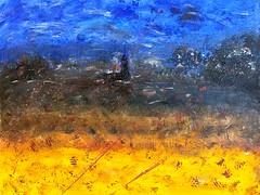 ~~ CLAIR DE SOIR ~~ (Joélisa) Tags: septembre2019 peinture toile tableau