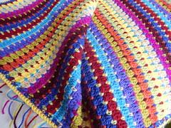 Latest creation. (Sal Lim) Tags: wool blanket rug crochet