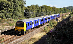 Class 321 At Dockfield Junction (Neil Harvey 156) Tags: railway 321903 dockfieldjunction shipley airevalley class321 emu electricmultipleunit northernrail