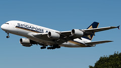 Singapore Airlines Airbus A380-841 9V-SKL (StephenG88) Tags: londonheathrowairport heathrow lhr egll 27r 27l 9r 9l boeing airbus august25th2019 25819 myrtleavenue renaissanceheathrow singaporeairlines sia sq a380 a388 a380800 a380841 9vskl