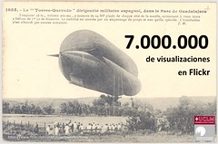 ¡7 MILLONES de visualizaciones en flickr ! =  7 million flickr views! (Centro de Estudios de Castilla-La Mancha (UCLM)) Tags: torresquevedo dirigibles aeroestación aeronáutica blimb airship tarjetaspostales postcards