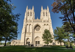 The National Cathedral in Washington, DC (jtgfoto) Tags: nationalcathedral washington washingtondc cathedral architecture architecturalphotography sonyalpha rokinon12mm rokinon exterior facade evening wideangle wideanglephotography