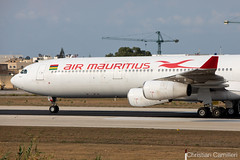 Air Mauritius Airbus A340-313 '3B-NBD' LMML - 06.09.2019 (Chris_Camille) Tags: spottinglog registration planespotting spotting maltairport airplane aircraft plane sky fly takeoff airport lmml mla aviationgeek avgeek aviation canon5d 5dmk4 70200mm28 canonef canon livery myphoto myphotography airbus a340 a340300 airmauritius 3bnbd